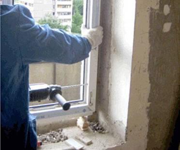 Установка откосов на окна своими руками